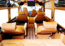 Daily Luxury Limousine bus Hanoi – Sapa – Hanoi