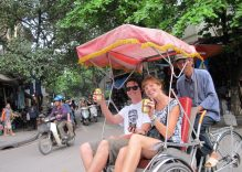 Cyclo Tour and Water Puppet Show