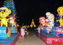 Lantern and light festival in Ho Chi Minh City
