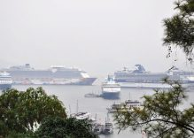 Four international cruise ships bring over 6,000 tourists to Ha Long